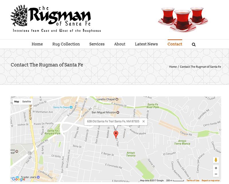 Rugman Google Map