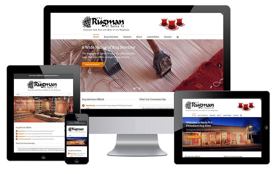 Inspiring Rugs Website Design Contemporary - Simple Design Home ...